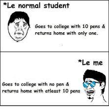 Pen Meme - 25 best memes about no pen no pen memes