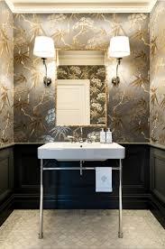 Houzz Powder Room Bathroom Chinoiserie Powder Room Airmaxtn
