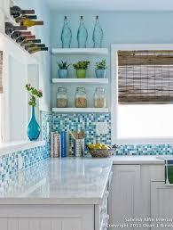 cuisine bleue et blanche cuisine bleu 25 idées déco cuisine bleue