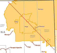 Navajo Reservation Map Over 25 Percent Of Arizona U0027s Land Is Made Up Of American Indian