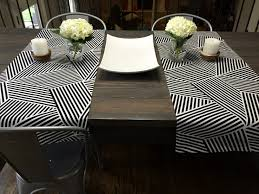 no sew diy table runners happymeetshome