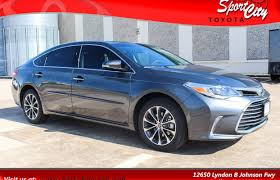 toyota avalon toyota avalon for sale in dallas tx the car connection