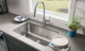 Countertop Kitchen Sink Sleek Kitchen Sink Ideas To Decorate Modern Countertop Healthy Side