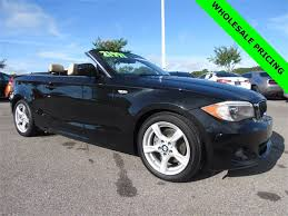 bmw convertible 1 series pre owned 2013 bmw 1 series 128i 2d convertible in wesley chapel