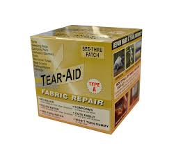 How To Repair Leather Chair Tear Amazon Com Tear Aid Repairs Patch Roll Kit For Type A Fabrics