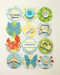 226 best embellishments images on scrapbook