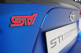 subaru rsti badge subaru sti performance concept makes 350 hp autoguide com news