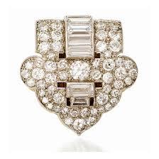 art deco diamond clip brooch by cartier circa 1925