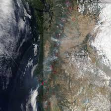 Wildfire Bc Map Interactive by Wildfires Continue To Beleaguer Western Canada Nasa