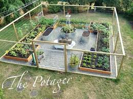 Fruit And Vegetable Garden Layout How To Create A Vegetable Garden Bed Hydraz Club
