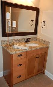 Shaker Style Bathroom Cabinet by Shaker Natural Maple Bathroom Cabinets Semi Custom Sold Through