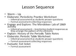 history of the periodic table ppt download