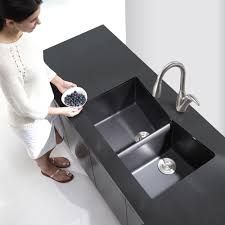 Granite Kitchen Sinks KrausUSAcom - Black granite kitchen sinks