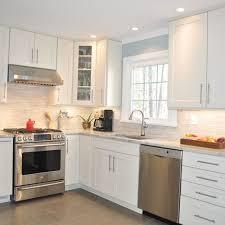 White Kitchen Cabinets White Appliances Best 25 White Appliances In Kitchen Ideas On Pinterest Grey