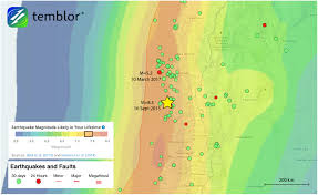 Map Chile M U003d5 2 Earthquake Shakes Chile Temblor Net