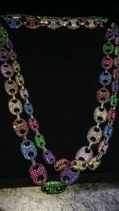 colored necklace chains images Takashi murakami custom spinning flowers pendant necklace are jpg