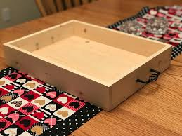 diy tray diy wood tray 5 steps with pictures