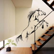 online get cheap stylish homes aliexpress com alibaba group novelty fashion pvc material jumping horse wall art stickers vinyl decal stylish home graphics bedroom