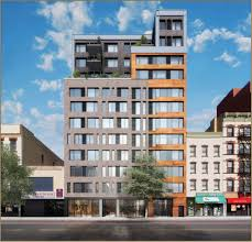 Building Exterior by Uptown Rental With Harlem Renaissance Inspired Art Hits The Market