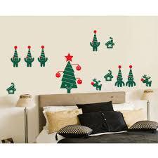 online get cheap christmas room designs aliexpress com alibaba new arrived merry christmas wall decals home living room decor vinyl wall mural chriatmas tree art