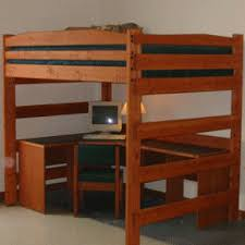 Wooden Loft Bunk Beds Ins And Outs Of Wood Loft Bed Stylish Home Interior Decoration