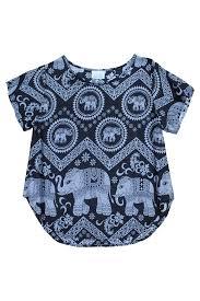 elephant blouse mahakala elephant s shirt bohemian island bohemian island