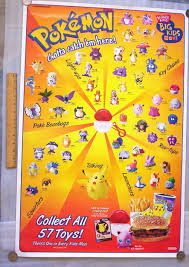 Rolie Polie Olie Halloween Vhs by Burger King Pokemon Promo 1999 Poster Video Game Collectibles