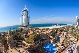 great view to burj al arab hotel and sea picture of wild wadi