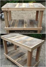 10 brilliantly rustic diy pallet kitchen furniture ideas diy