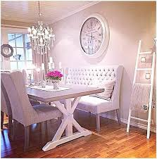 settee for dining room table what to expect from sofa dining room