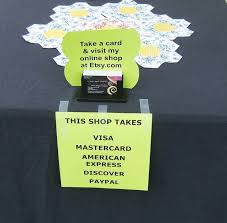 Credit Card Signs For Businesses 237 Best Craft Fair Images On Pinterest Display Ideas Booth