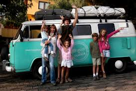 volkswagen bus front family drives 13 000 miles in old vw bus from argentina to see