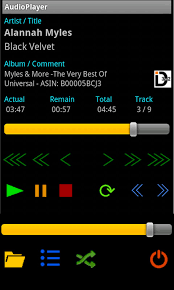 android audio player audioplayer free android app android freeware