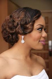 black people short hair cut with part down the middle black wedding hairstyles half up half down black bridal hairstyles