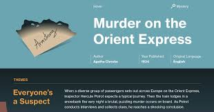 on the orient express table of contents on the orient express part 1 chapter 1 summary course hero