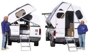 Camper For Truck Bed Quickup This Is A Cool Camper Style Addition To A Ford F150