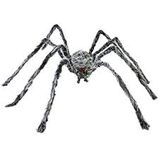 Decorative Spiders Amazon Com Fun Express Realistic Hairy Spider With Led Eyes Toys