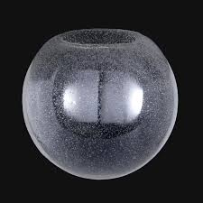 neckless glass shades for light fixtures clear seeded glass neckless ball shades 08856se b p l supply