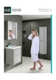 hib novum bathroom furniture by morris and turner issuu