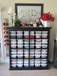 simple diy wood kids craft storage ideas painted with black color