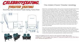 Movie Theater Sofas by Alden Theater Seating Specification Page Auditorium Chairs Seats