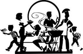 party silhouette unique silhouette dinner party vector design free vector art