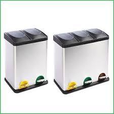 poubelle de tri selectif cuisine poubelle tri sélectif cuisine 2 3 bacs 36l 54l compartiment