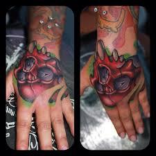 skull tattoo on hand best tattoo ideas gallery