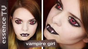 halloween make up tutorial deutsch scary vampire l