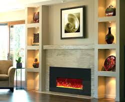 astounding inch linear electric fireplace insert 9000 transitional thin at large