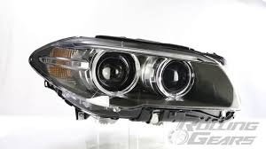 bmw headlights rolling gears rg bmw f10 upgrading lci type projector headlights