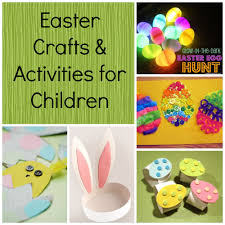 easter crafts u0026 activities for children saving cent by cent