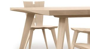 Axis Dining Table Circle Furniture Axis Solid Top Dining Table Contemporary