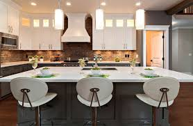 Kitchen Backsplash Contemporary Kitchen Other Modern Brick Backsplash Kitchen Ideas